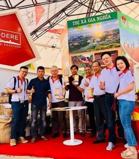 Godere tham gia ngày cà phê Việt Nam tại Đắk Nông